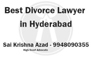 Top divorce lawyers in hyderabad
